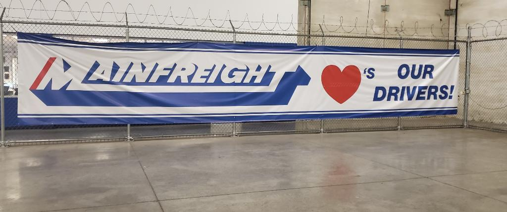 Mainfreight Banner