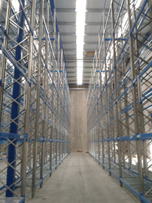 Earthquake-Compliant Racking in new Christchurch Warehouse