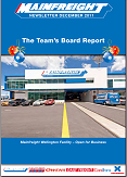 Mainfreight Newsletter December 2011 - Cover Wellington