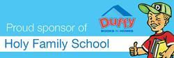 Duffy Books in Homes - Holy Family School