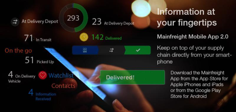 Mainfreight App