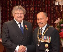 Neil Graham and the NZ Governor-General